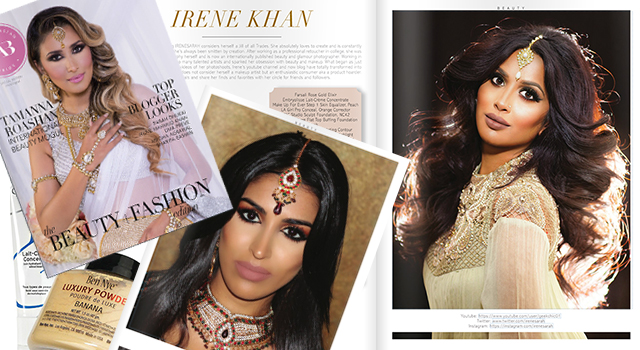 South Asian Bride Magazine + Tutorial