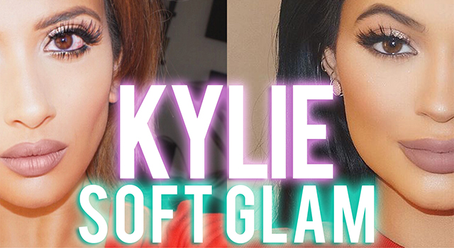 Kylie Jenner Inspired Soft Glam