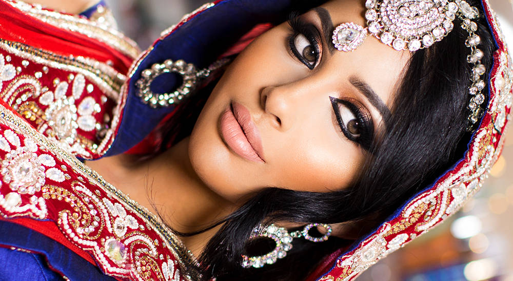Faryal Makhdoom Wedding Makeup | Arabian Eyes