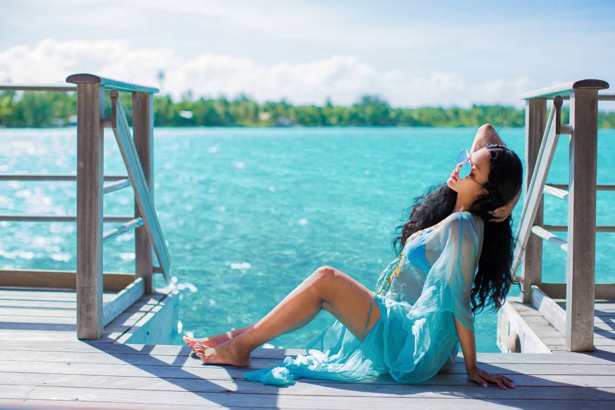 four seasons resort bora bora babymoon travel diary